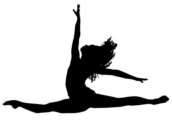 574x412 Ballerina Clipart Dance Leap