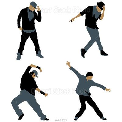 400x400 Hip Hop Dancer Clip Art Cliparts
