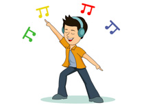 210x153 Kids Dancing Clipart Collection