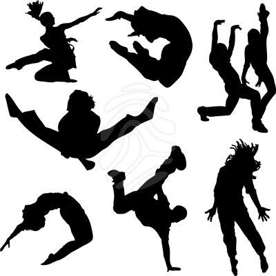 400x399 Clip Art Of A Dancing Person Clipart