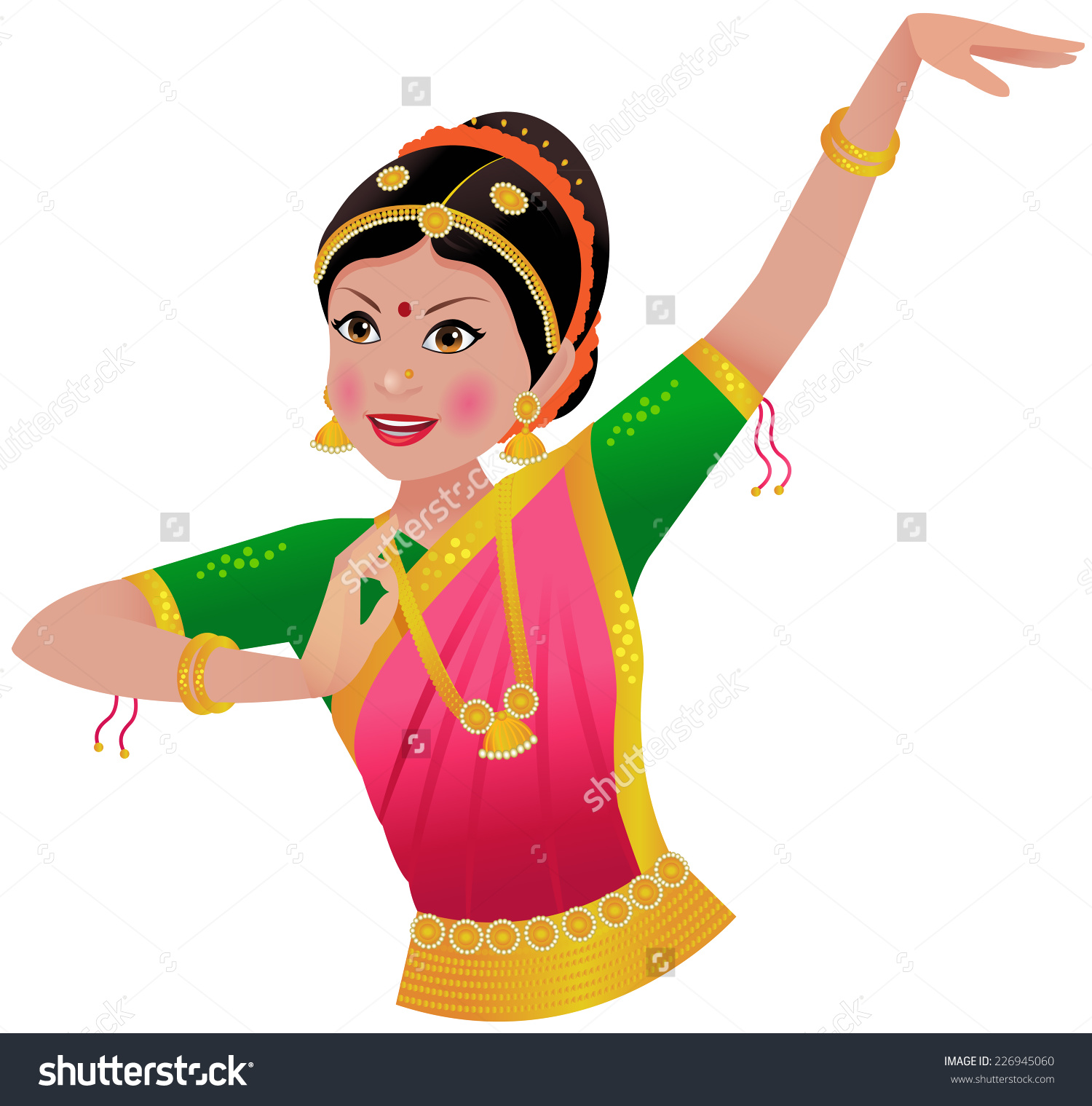 1500x1519 Traditional Dance Clipart