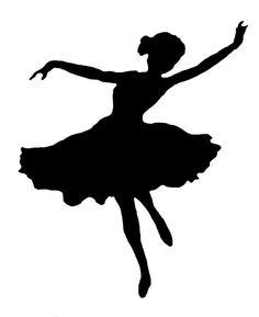236x289 Ballerina Silhouette Free