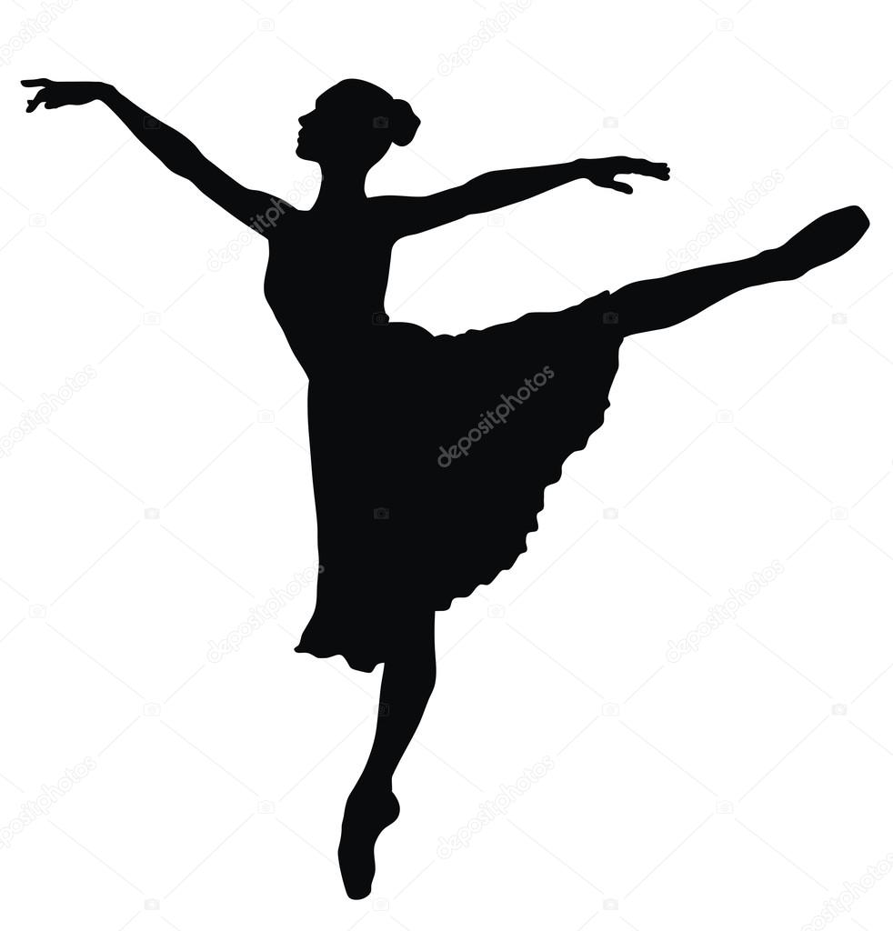 982x1024 Dancer Silhouette Stock Vectors, Royalty Free Dancer Silhouette