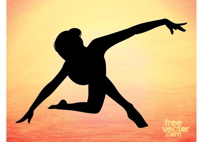 700x490 Elegant Dancer Silhouette