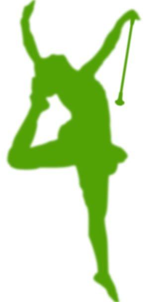 298x608 Majorette, Ballerina, Silhouette, Dancer, Outline, Dance, Ball