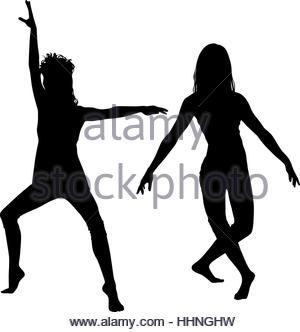 300x332 Silhouette Outline Happy Joy Dancer Child Kid Step