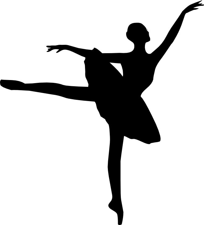 660x728 Best Ballerina Silhouette Ideas Silhouettes