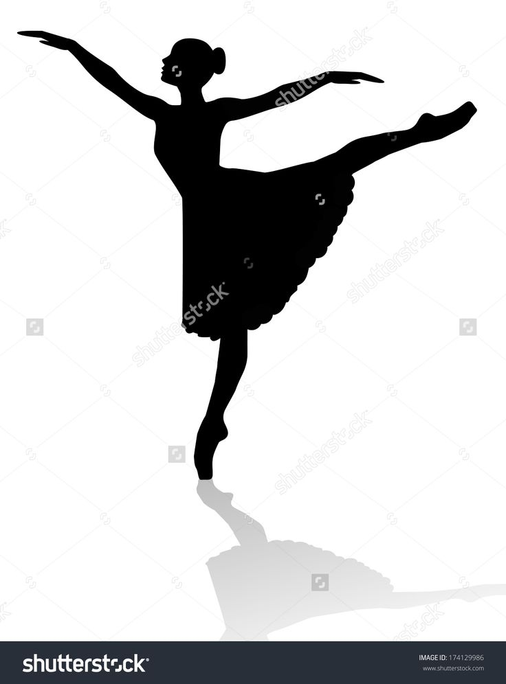 Dancer Silhouette Leap