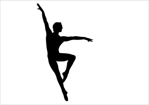 dancer silhouette leap free download best dancer silhouette leap