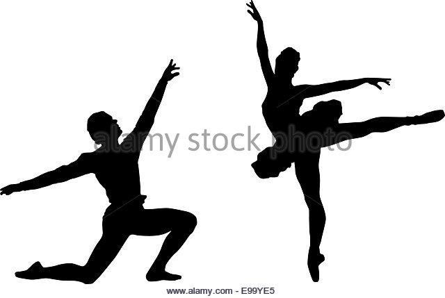 640x429 Ballet Dancer Silhouettes Stock Photos Amp Ballet Dancer Silhouettes