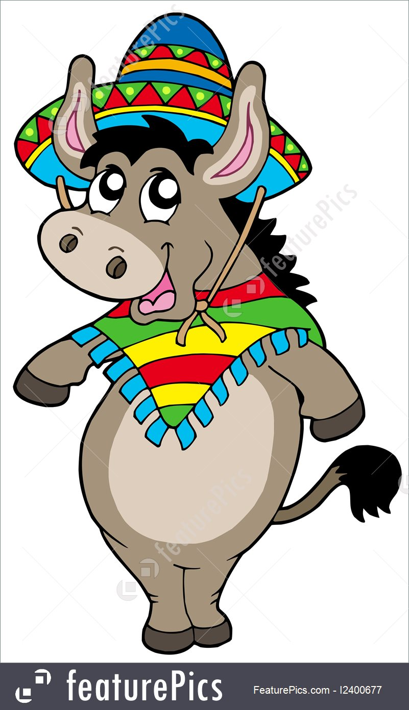 801x1392 Animals Dancing Mexican Donkey