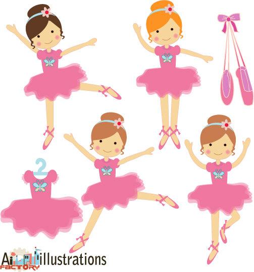 503x539 Ballet Clipart Baby Ballerina