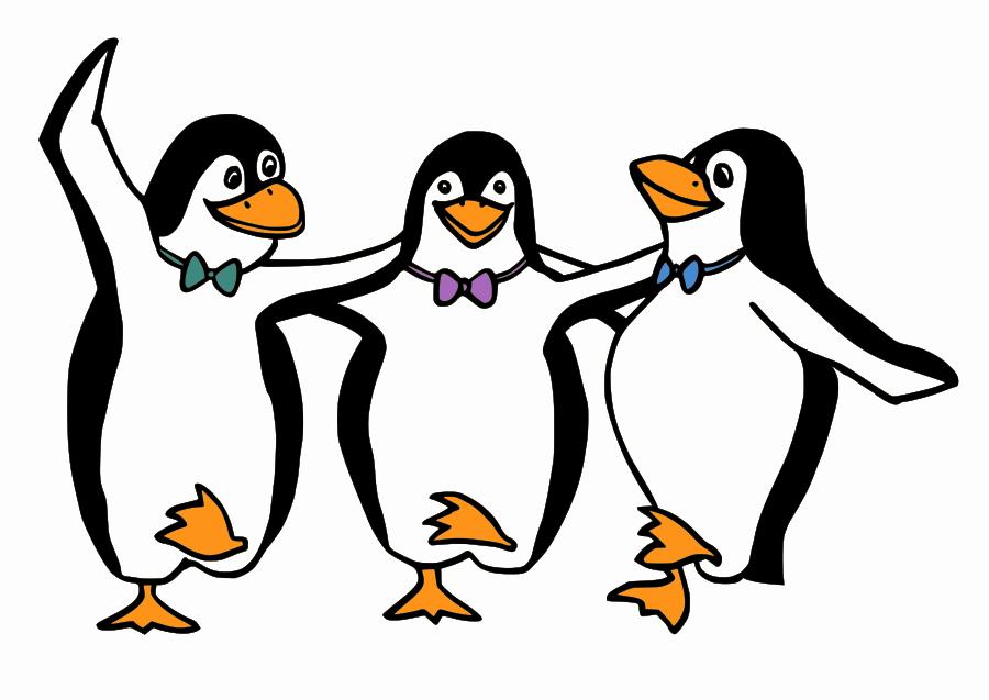 900x637 Penguin Black And White Penguin Black And White Clip Art Clipart 4