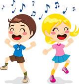 160x170 Clip Art Of Children Dancing K10487118