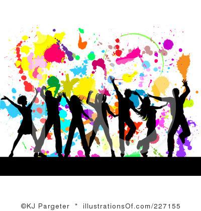 400x420 Dancing Clipart Group Dancing