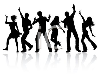 350x263 Clipart Of People Dancing