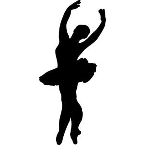 300x300 Free Dance Silhouette Clip Art