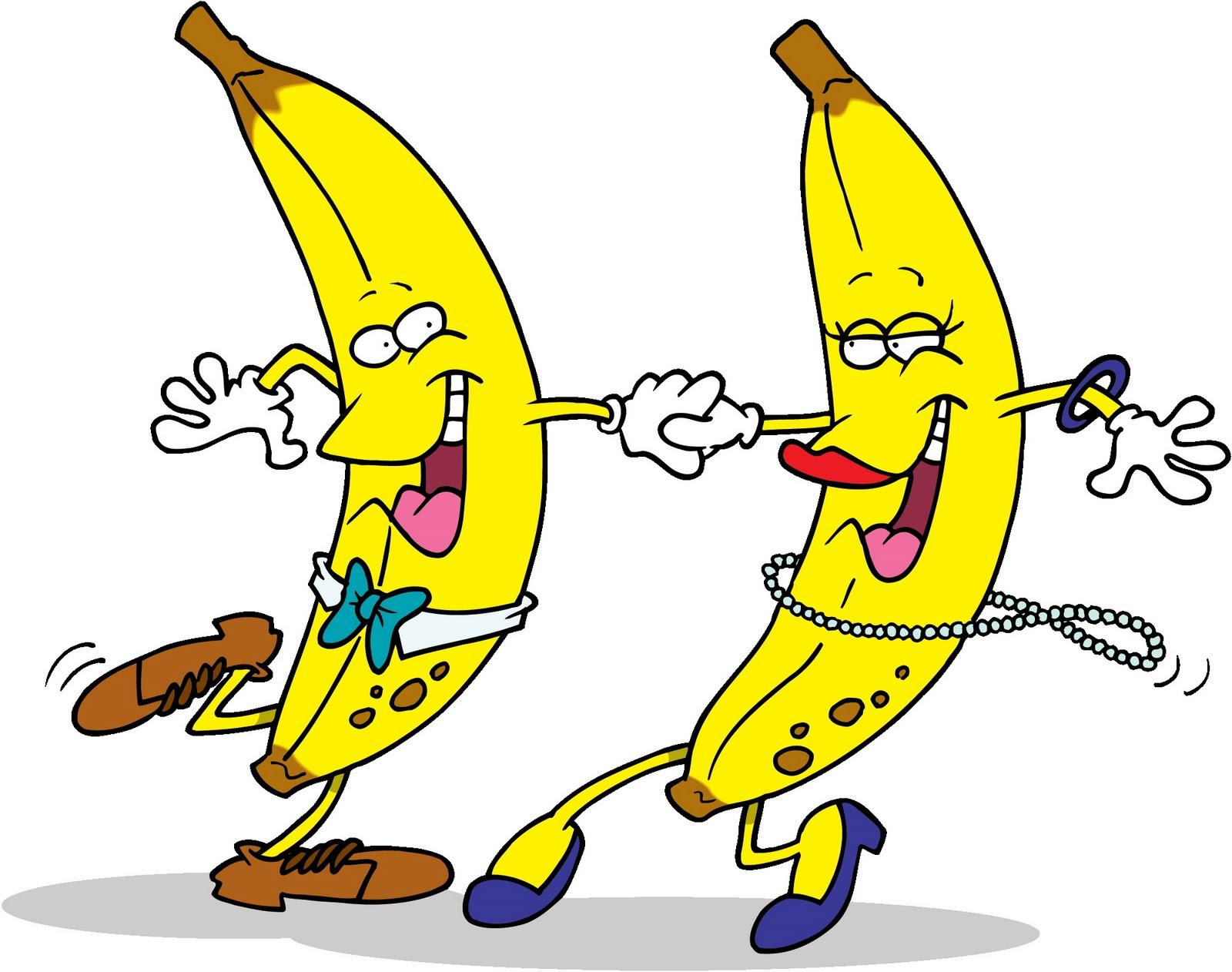 1600x1262 Funny Dancing Bananas Clip Art