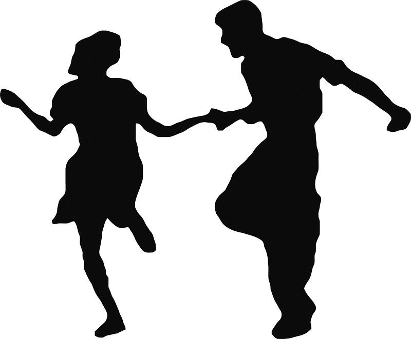 800x661 Couple Clipart Swing Dancing