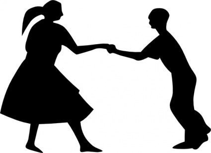 425x308 Clip Art People Dancing Clipart 2 Image