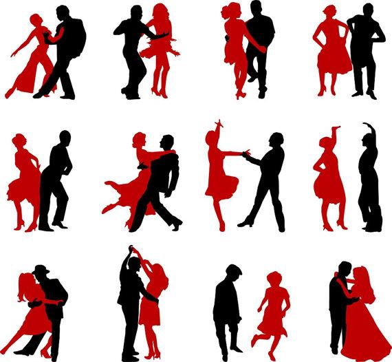 570x526 Dancers Clip Art Graphics Dancing People Clipart Scrapbook