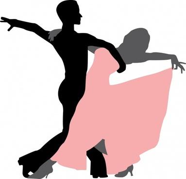 383x368 Dancing People Vector Free Vector Download (6,210 Free Vector)