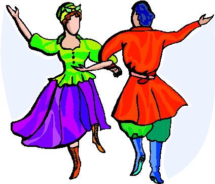 424x362 Dancing Clipart Folk Dance