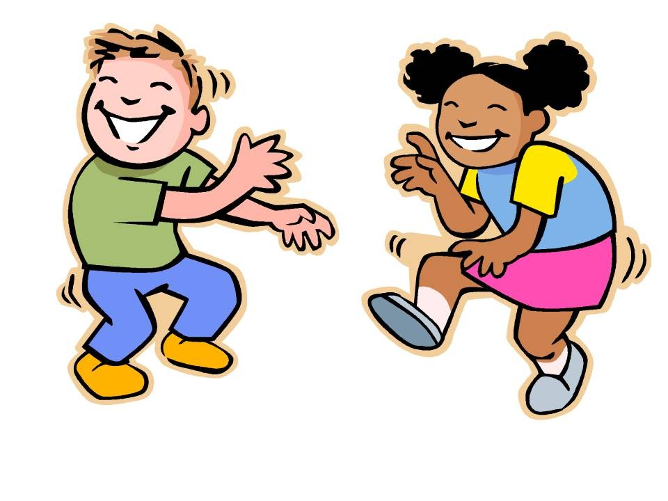 960x720 Dancing Kids Clipart