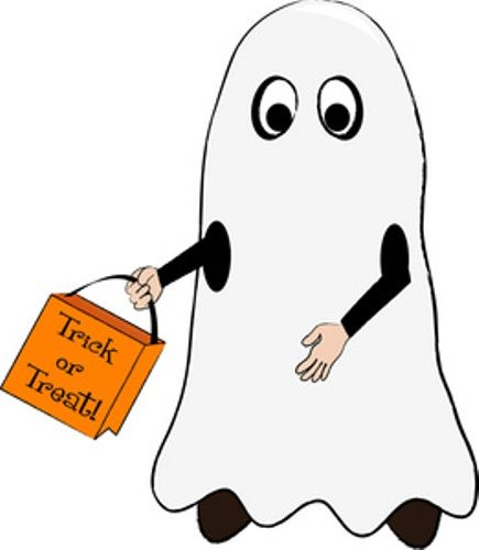 435x500 8 Best Happy Halloween Clipart, Free Graphics, Cute Printables