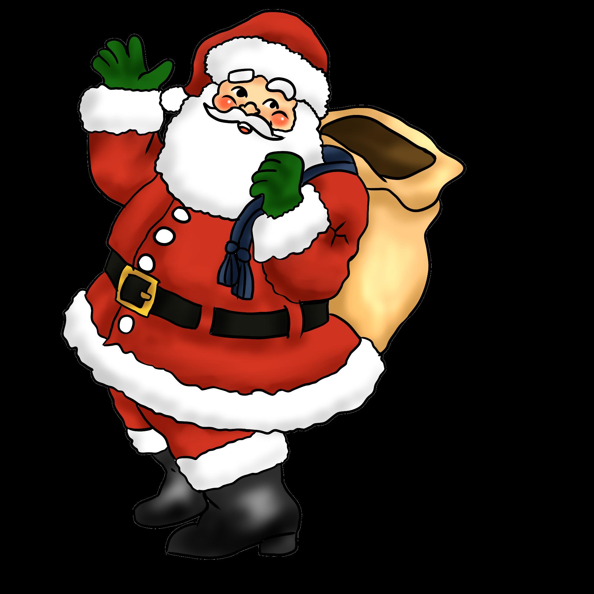2000x2000 Santa Images Clip Art Free Many Interesting Cliparts