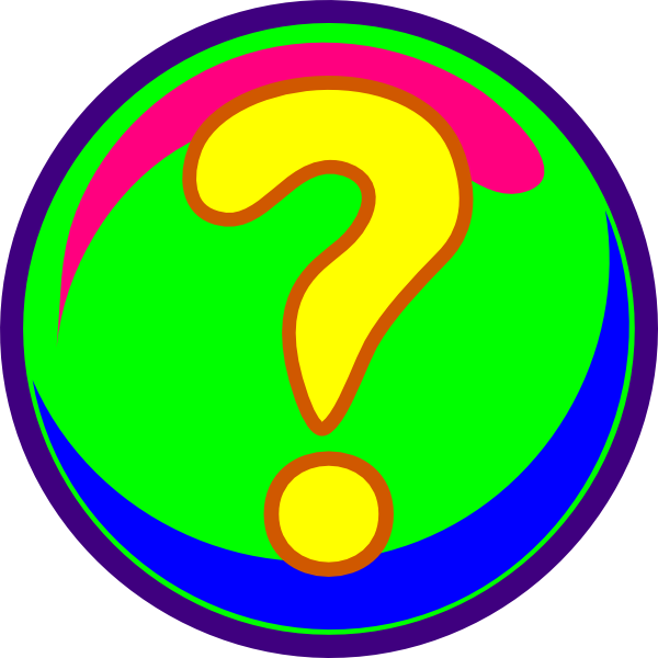 600x600 Animated Question Mark Clipart 2209332