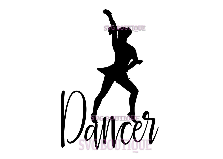1500x1071 Dancer Svg File, Cut File, Dancer Quote, Cricut, Dance Clip Art