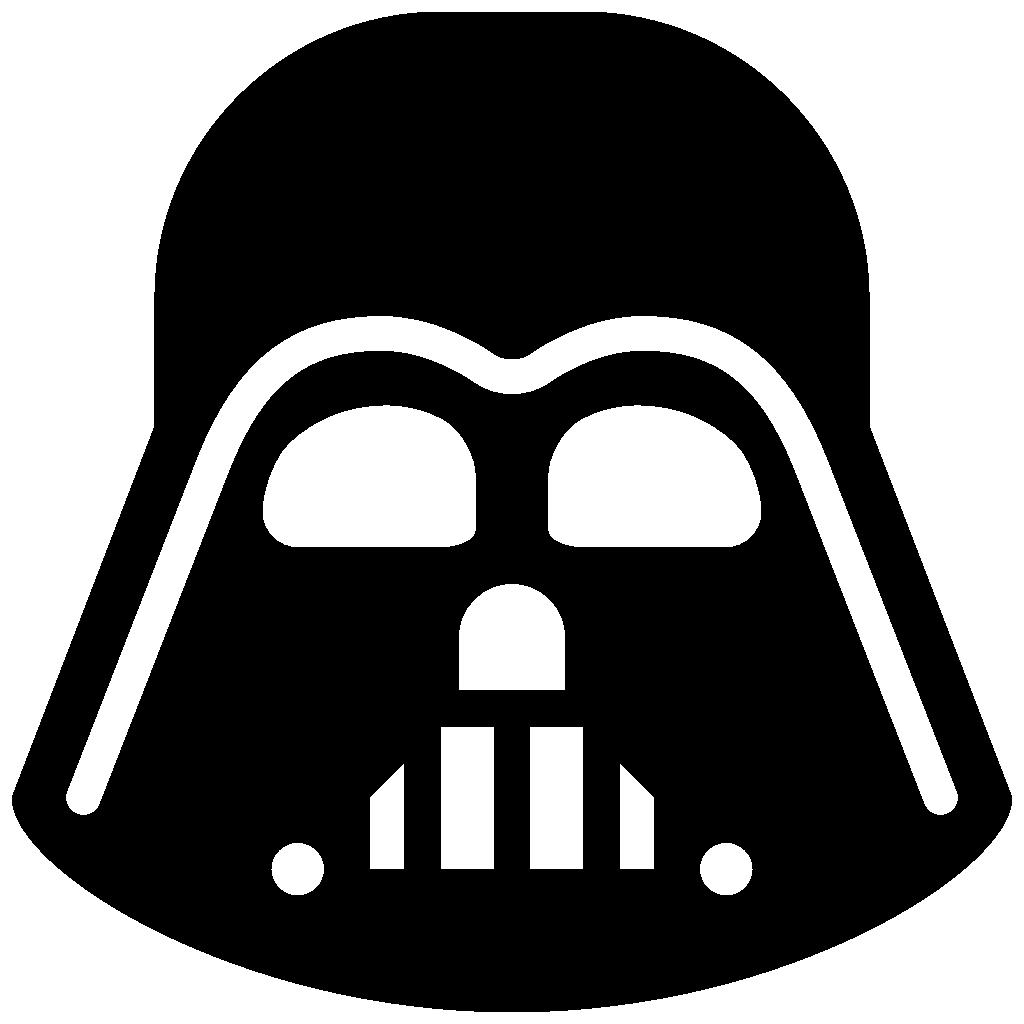 1024x1024 Darth Vader Clipart Simple
