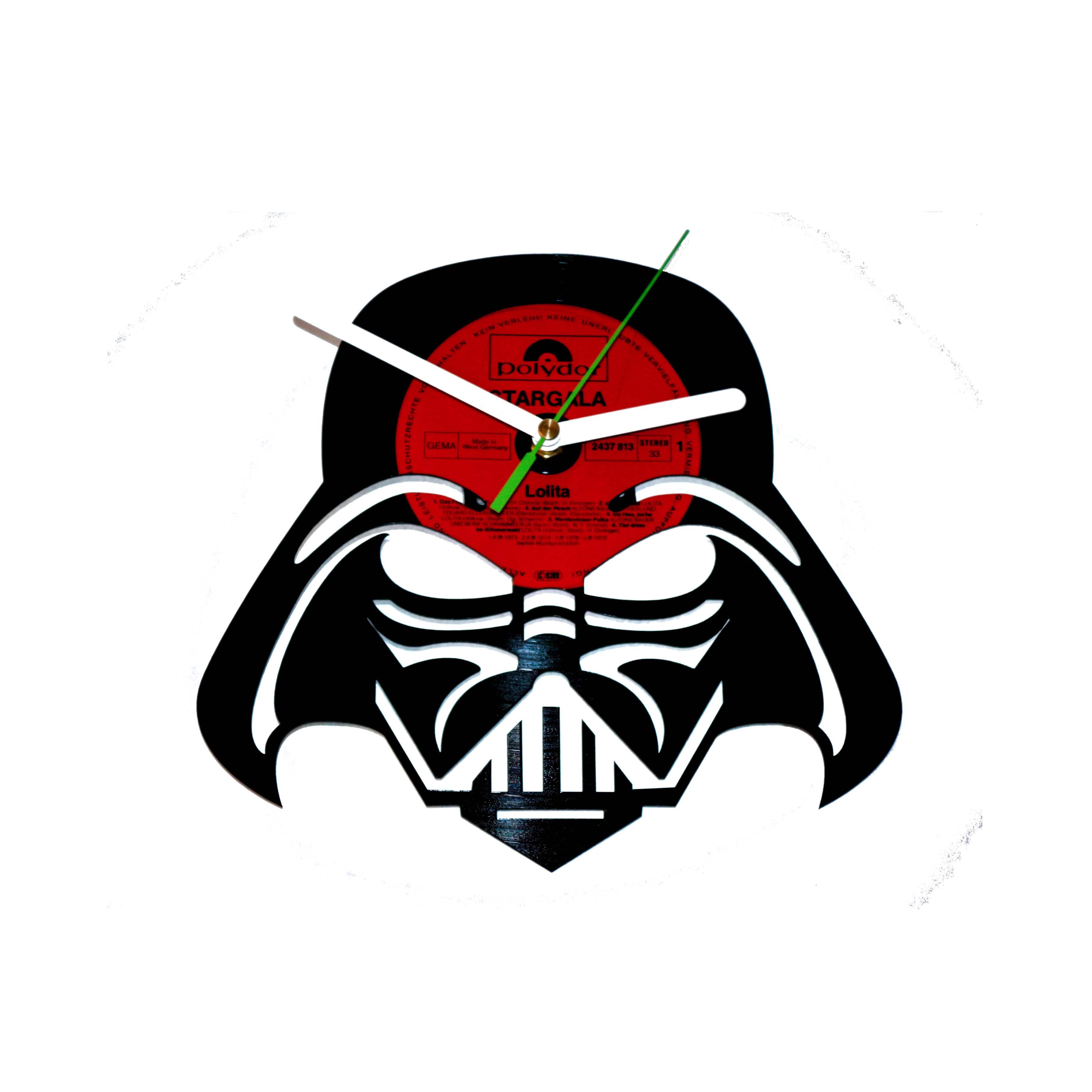 3626x3626 Darth Vader Vinyl Clock Design
