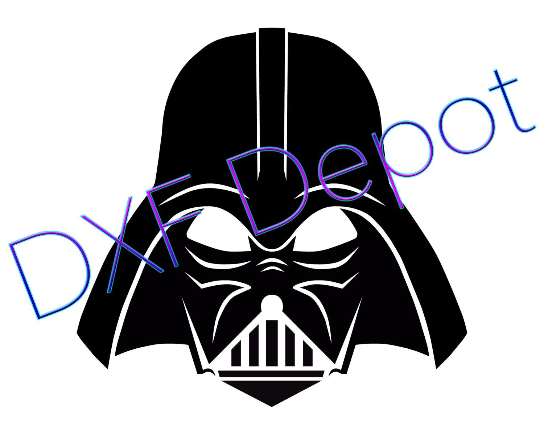 1500x1200 Darth Vader Dxf Format.