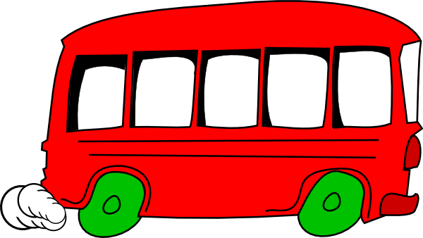 600x338 Bus Clipart Small