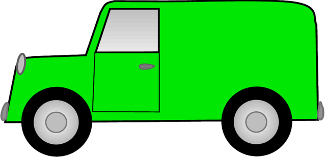 640x311 Daycare Van Free Clipart