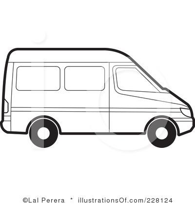 400x420 Van Clipart Free