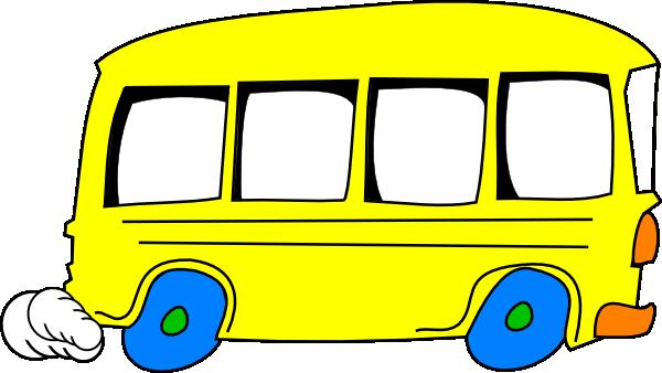 600x338 Bus Clip Art
