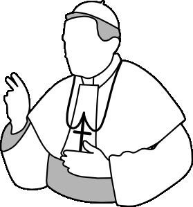 279x299 Pope Clip Art