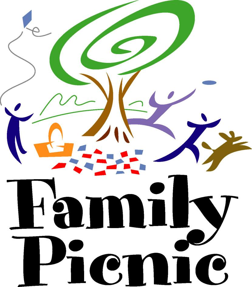 830x945 Church Picnic Clipart