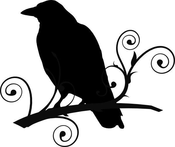 600x503 Dead Clipart Raven