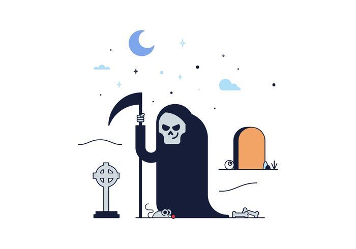 700x490 Free Grim Reaper Death Vector