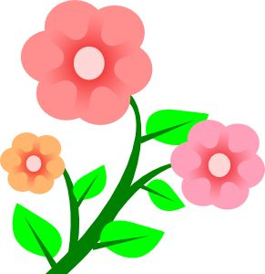 291x300 The Best Free Clip Art Flowers Ideas Free