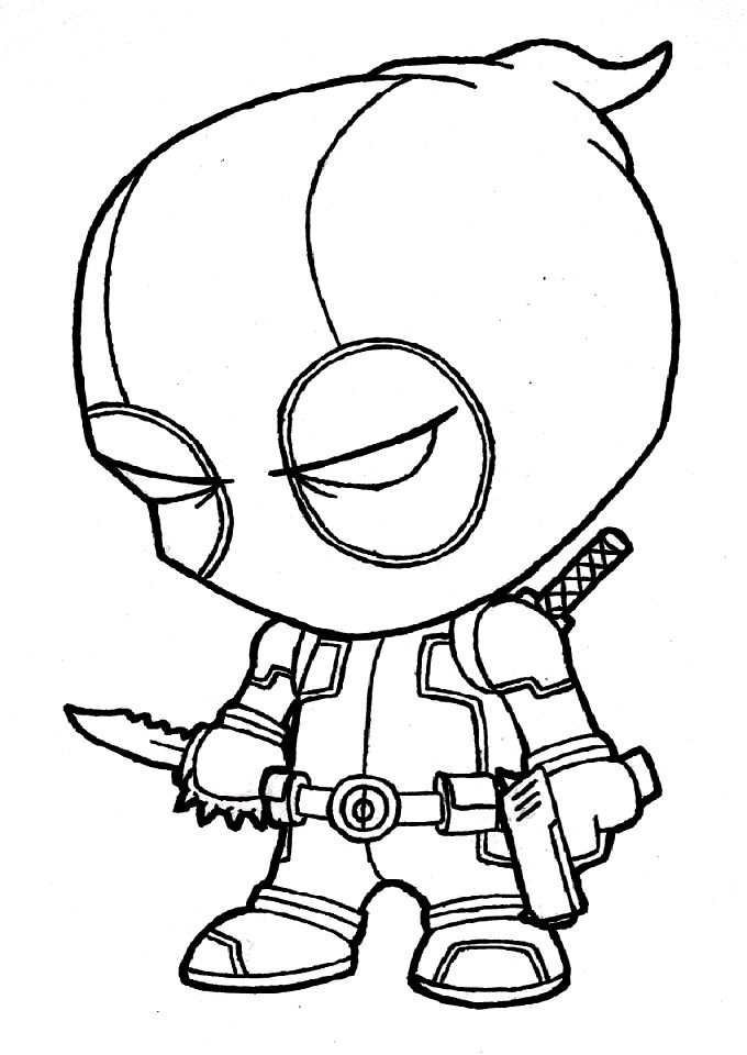 680x960 Deadpool Coloring Pages 2016 Coloring Pages Deadpool