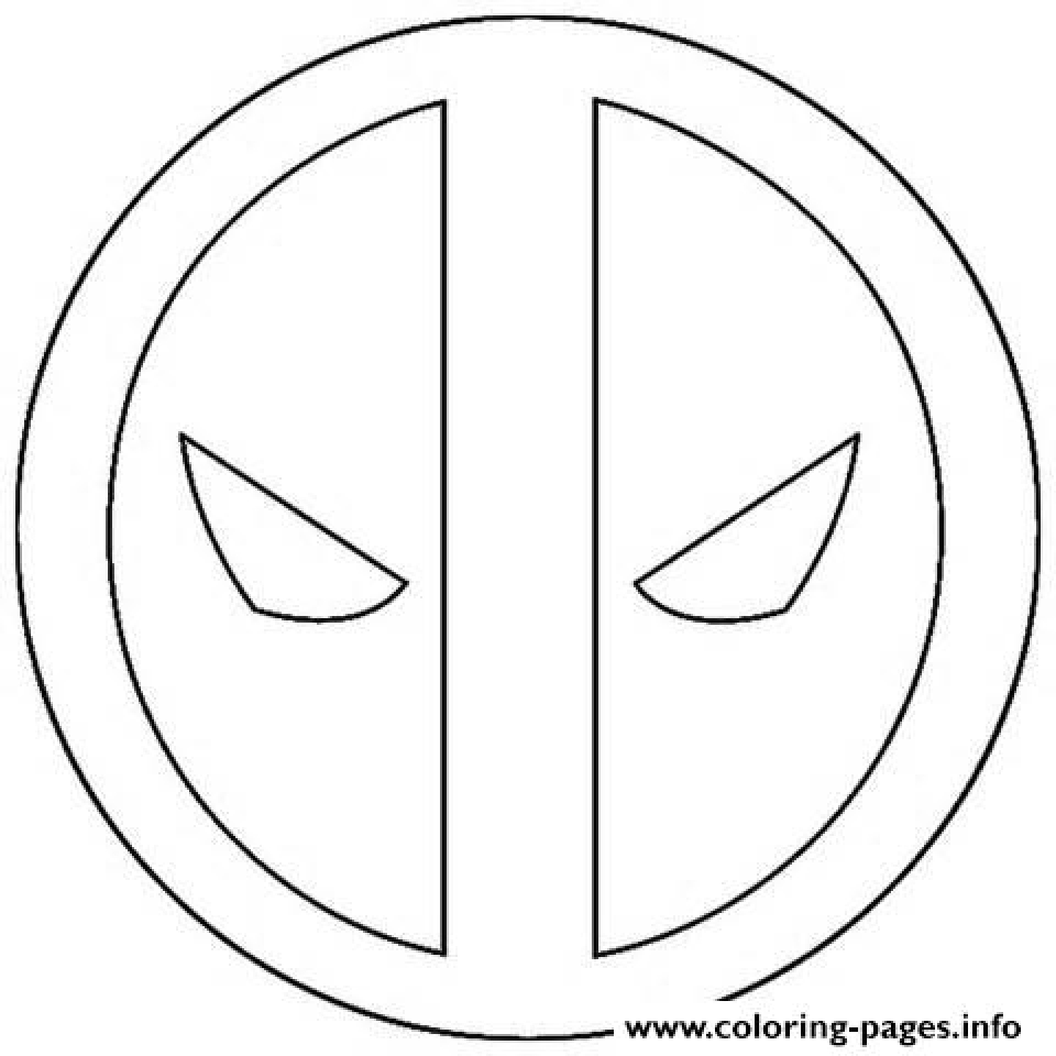960x960 Get This Deadpool Coloring Pages Free Printable 253839 !