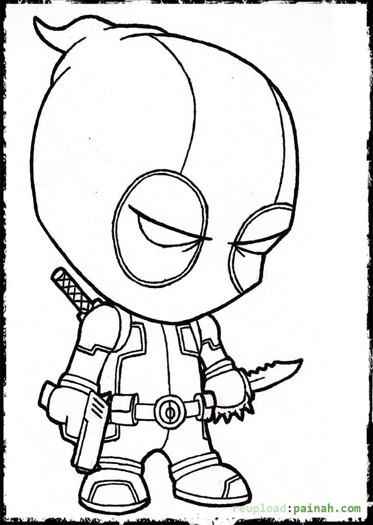 728x1024 Coloring Pages Of Deadpool Lego Deadpool Coloring Page Free