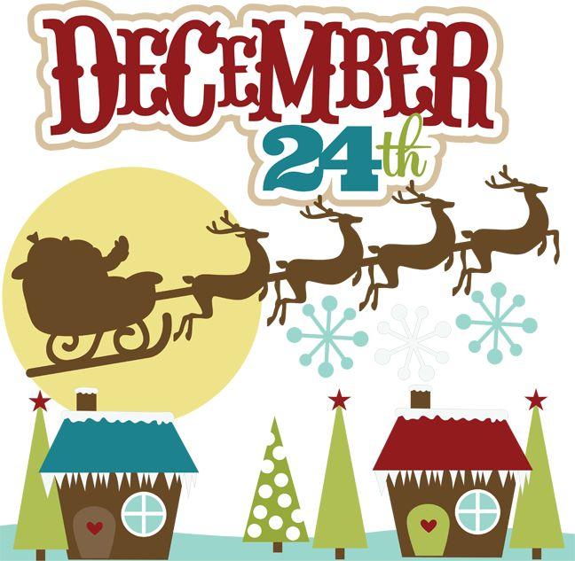 December Birthday Clipart