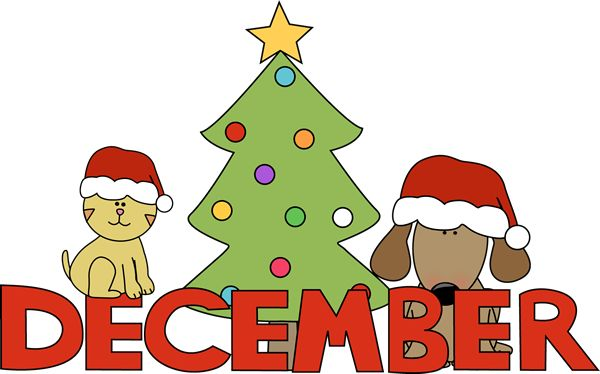 600x374 Christmas Calendar Clip Art