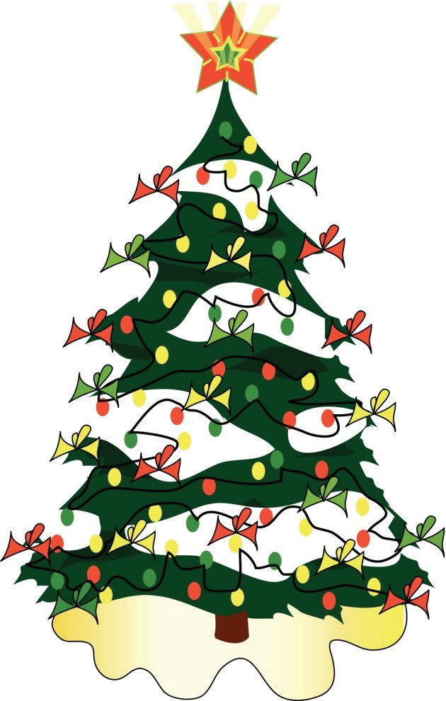 630x990 Christmas Tree clipart december